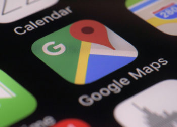 This Wednesday, March 22, 2017, photo shows the Google Maps app on a smartphone, in New York. Google is enabling users of its digital mapping service to allow their movements to be tracked by friends and family in the latest test of how much privacy people are willing to sacrifice in an era of rampant sharing. The location-monitoring feature will begin rolling out Wednesday in an update to the Google Maps mobile app that's already on most of the world's smartphones. It will also be available on personal computers. (AP Photo/Patrick Sison)