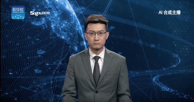 """Pertama di Dunia, """"Robot AI"""" Jadi Pembaca Berita TV di China"""