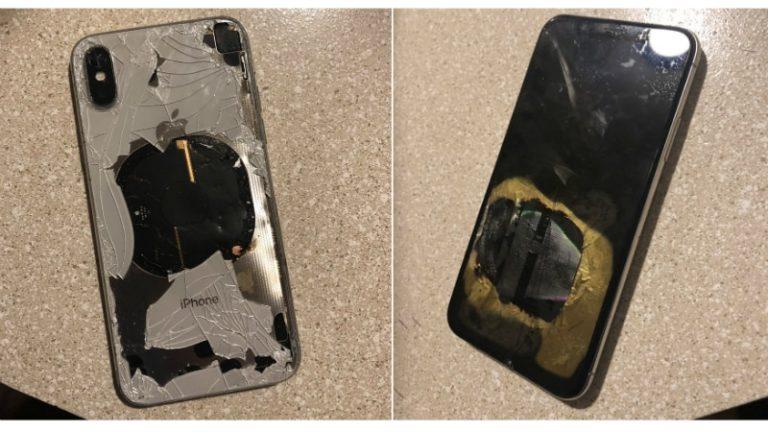 Gawat! iPhone X Meledak Setelah Update ke iOS 12.1