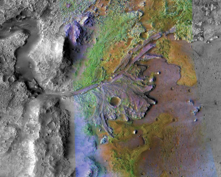 NASA Berburu Kehidupan di Sungai Purba Mars