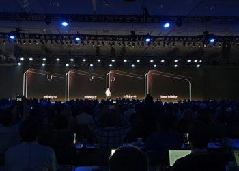 Smartphone berponi Samsung