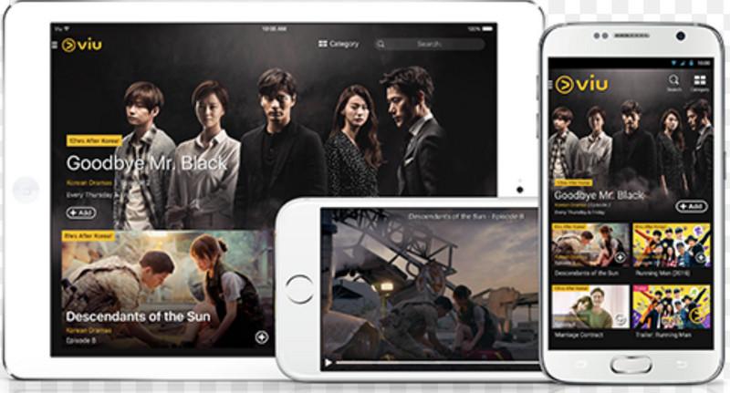 viu aplikasi streaming di handphone