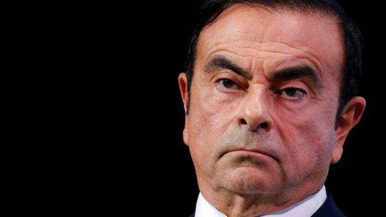 Masa penahanan Carlos Ghosn