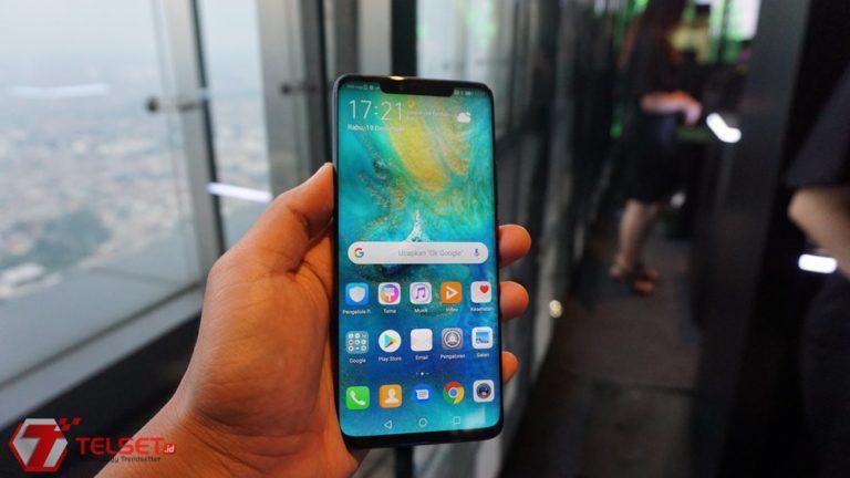 """Penampakan Huawei Mate 30 Pro dengan """"Layar Air Terjun"""""""