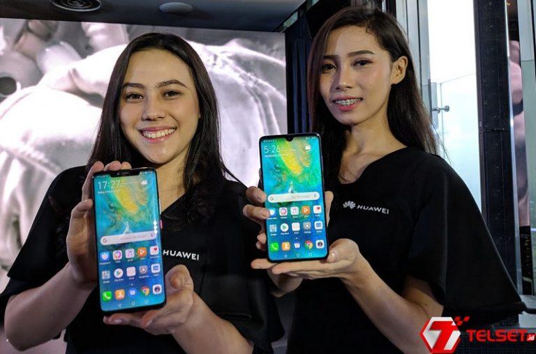 Ini Harga Huawei Mate 20 & Mate 20 Pro di Indonesia