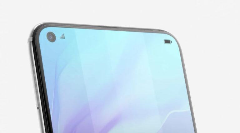 """Smartphone Layar Berlubang"" Huawei Resmi Dirilis di India"