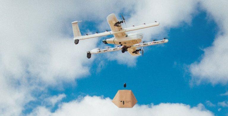 2019, Alphabet Uji Kirim Barang Pakai Drone
