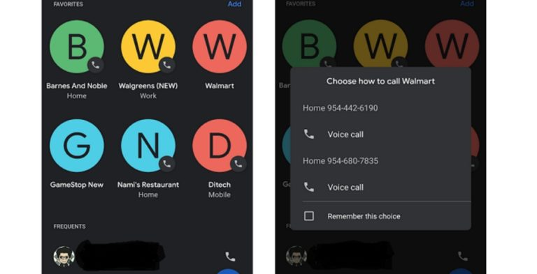 Google Ubah Antarmuka Favourites untuk Aplikasi Phone