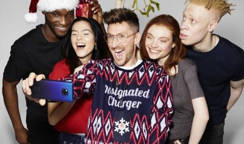Huawei Luncurkan 'Jumper Natal' Pengisi Daya
