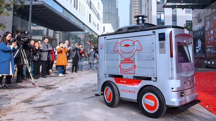 JD.com Mulai Berdayakan Robot untuk Kirim Barang