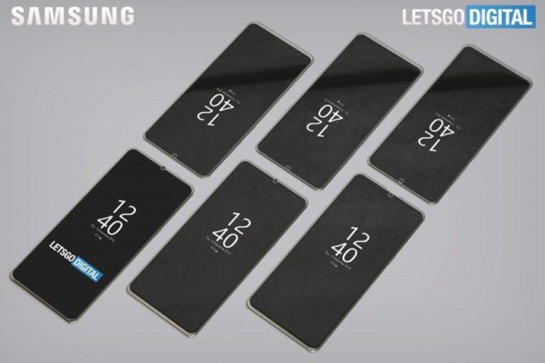 Paten Desain Layar Samsung Terkuak, Begini Wujudnya