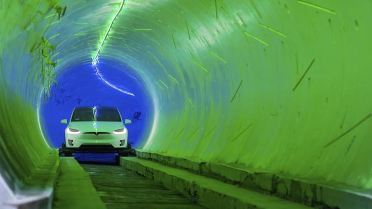 Terowongan Elon Musk Ternyata di Bawah Markas SpaceX