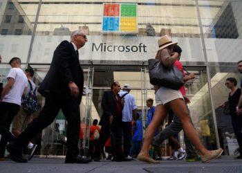 Valuasi pasar Microsoft