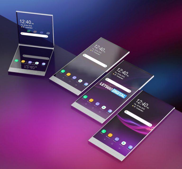 Ponsel Lipat Sony Bisa Diubah Jadi Layar Transparan?
