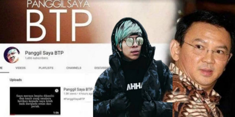 Jadi Youtuber, Ahok Ancam Atta Halilintar dkk