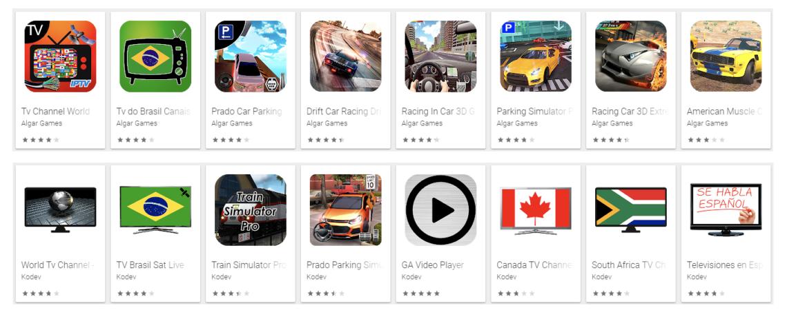 Aplikasi Android Palsu