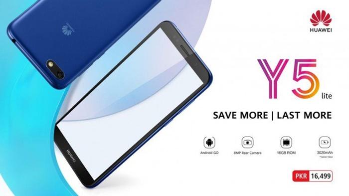 Hadir di Pakistan, Huawei Y5 Lite Gunakan Android Go