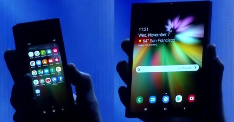 Ponsel Layar Lipat Samsung Punya Baterai 4.400 mAh?