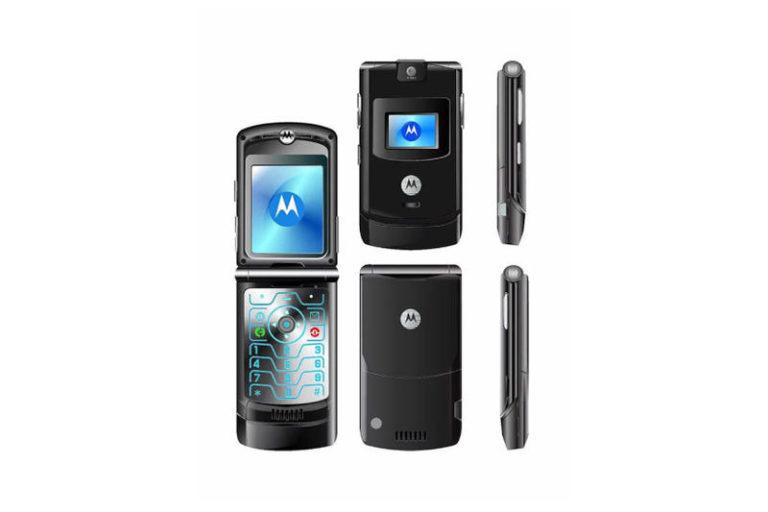 Inikah Paten Smartphone Lipat Motorola Razr Terbaru?