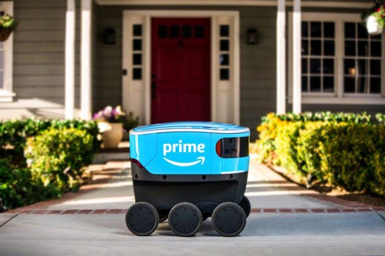 """Di Masa Depan, Paket Amazon Dikirim Pakai """"Robot Scout"""""""