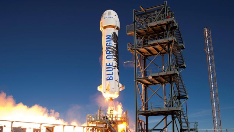 Roket New Shepard Sukses Meluncur ke Luar Angkasa