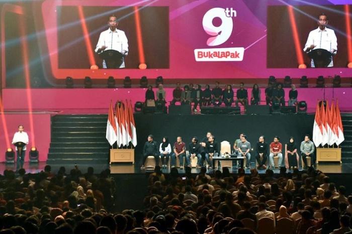 Jokowi Ajak Bukalapak Ikut Kembangkan Ekosistem UMKM