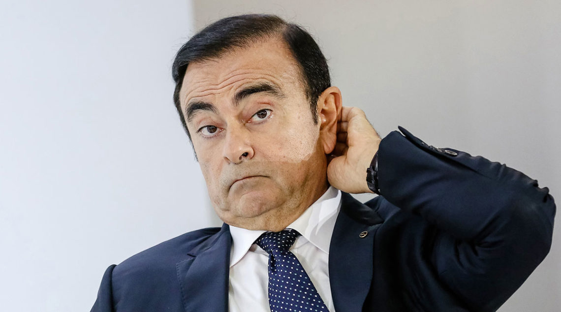 penahanan Carlos Ghosn