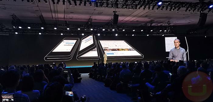 Smartphone Lipat Samsung Tak Bisa Dilipat Secara Penuh