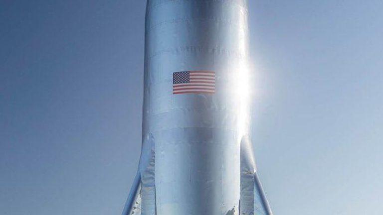 Elon Musk Pamer Starship, Roket SpaceX untuk Terbang ke Mars