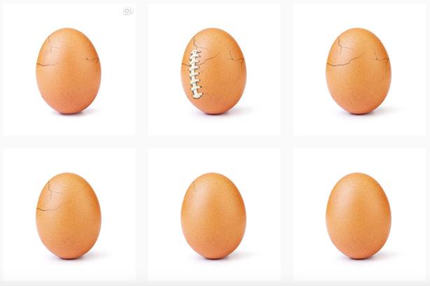 Retak, Ada Apa dengan Foto Telur Pemecah Rekor Instagram?