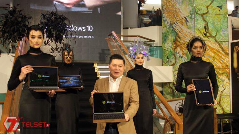 HP Rilis Laptop Berbahan Kulit, HP Spectre Folio
