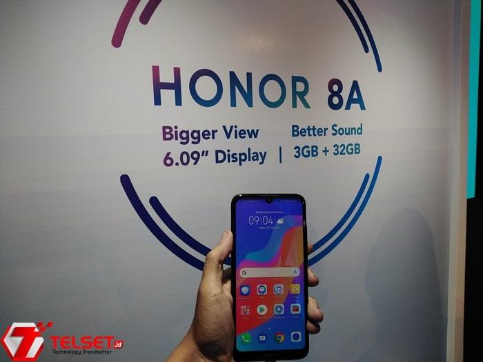 Honor 8A Resmi Meluncur di Indonesia