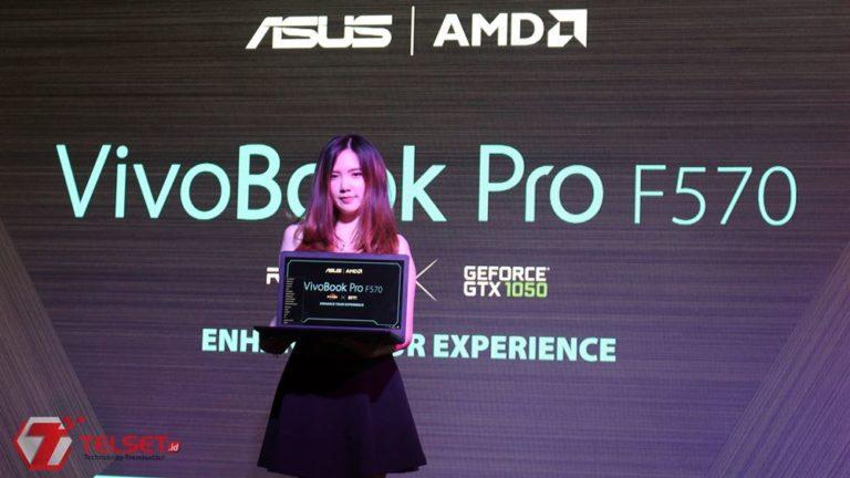 Asus Rilis Laptop Mainstream Rasa Gaming, VivoBook Pro F570