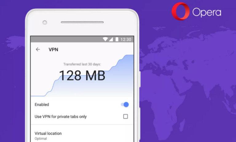 Layanan VPN Gratis Opera Kini Hadir untuk Android