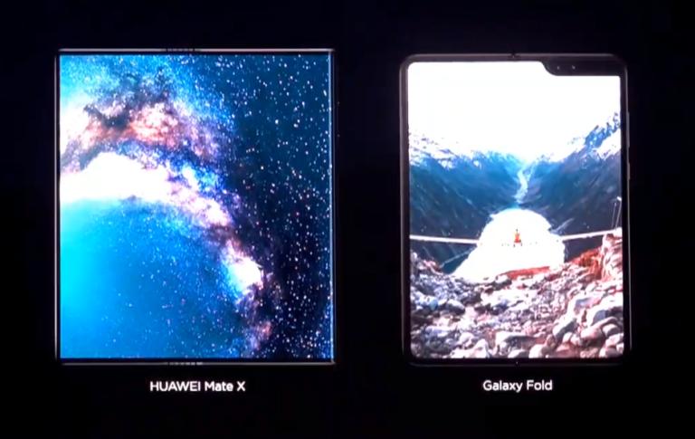 """Samsung """"Beri Kode"""" Kalau Galaxy Fold Unggul dari Huawei Mate X"""