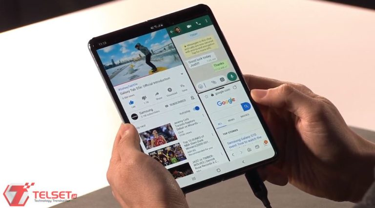 Resmi! Samsung Galaxy Fold Diluncurkan dengan Dua Layar