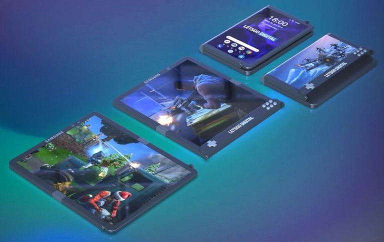 Tampil Beda, Ini Konsep Smartphone Gaming ala Samsung