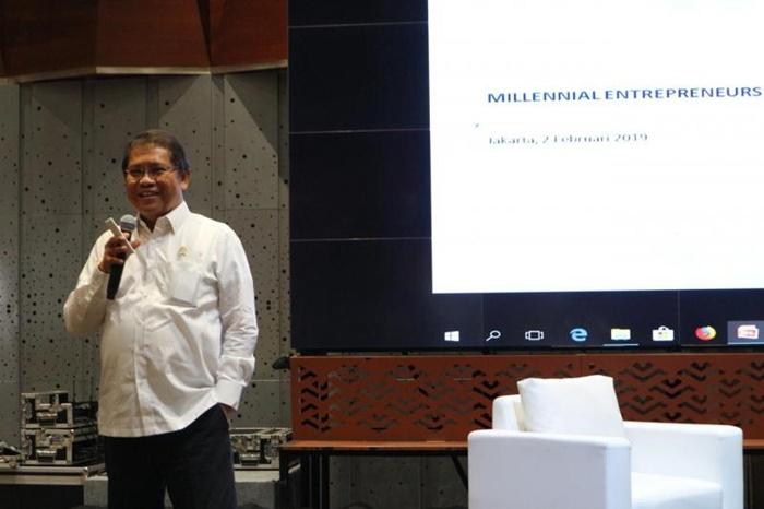 Melek Digital, Rudiantara Ajak Generasi Milenial Kembangkan UMKM