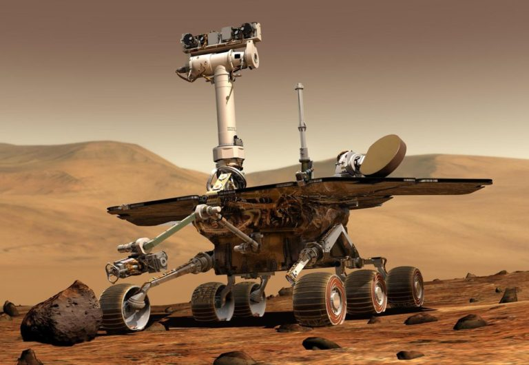 Robot Oppy Tewas Diterjang Badai Debu di Mars
