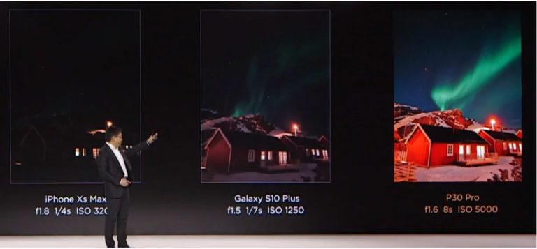 """Klaim """"Terbaik"""", Huawei Bandingkan P30 Pro dengan iPhone Xs, Galaxy 10+ dan Kamera DSLR"""