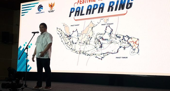 Uji Palapa Ring, Rudiantara Video Call dengan Nelayan Natuna