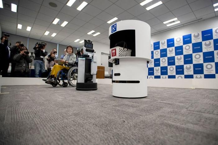Jepang Perkenalkan Robot Relawan di Olimpiade Tokyo 2020