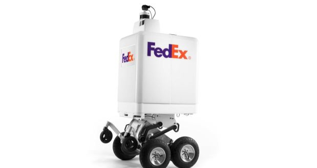 FedEx Uji Pengiriman Barang dengan Robot