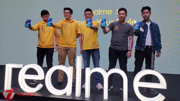 Realme Rilis Smartphone Mumpuni nan Kekinian, Realme 3
