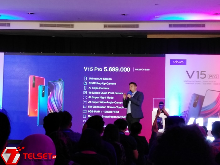 Punya Kamera Mumpuni, Ini Harga Vivo V15 Pro di Indonesia