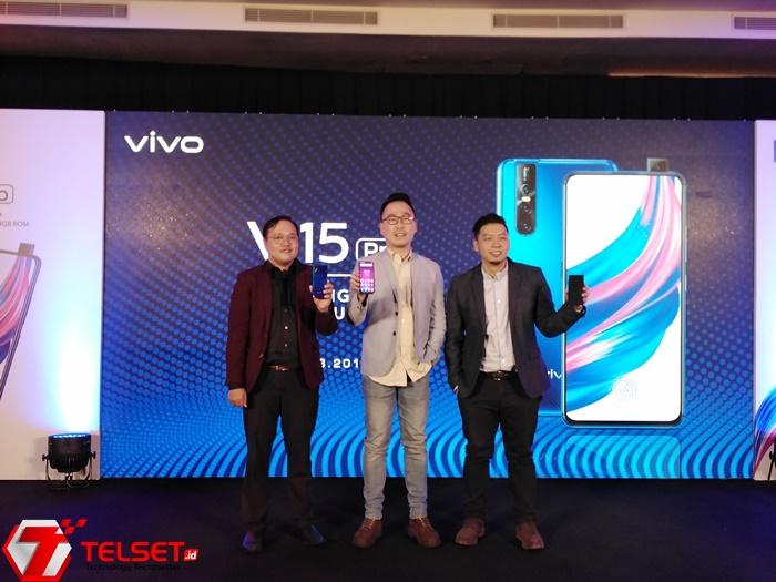 Vivo V15 Pro Mendarat di Indonesia, Ini Speknya!