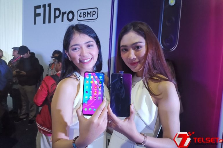 Oppo F11 Pro Resmi Melenggang di Indonesia