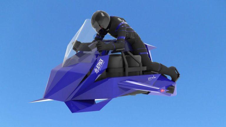 Sah! Sepeda Motor Terbang Speeder akan Dirilis, Ini Kemampuannya