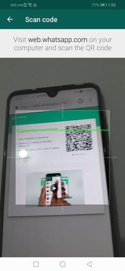 Scan Barcode WhatsApp Web versidesktop