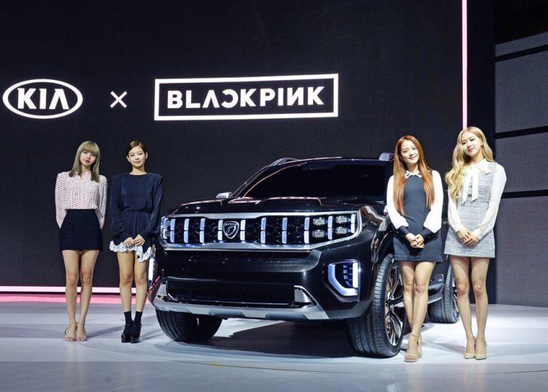 Pamer Mobil Konsep, Kia Motors Gandeng Blackpink